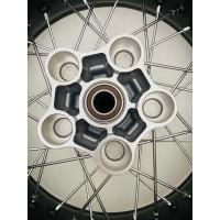 COMPLETE PAIR WHEEL RIMS DUCATI SCRAMBLER 800 18X3 17X5.5 NEW CD 96380031A SCRATCHES