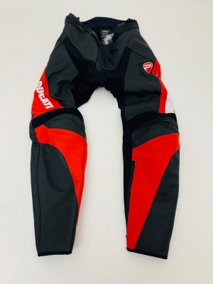 LEATHER MAN'S TROUSERS DUCATI SPEED EVO C1 SIZE 50 cod 981043850 NEW