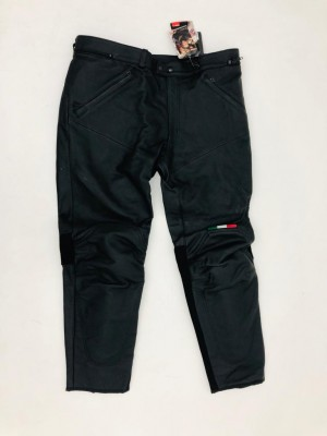 LEATHER MAN'S TROUSERS DUCATI FLAG SIZE 60 cod 982939019 NEW