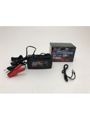 BATTERY CHARGER FOR MOTORCYCLE 6 AND 12 V NEW