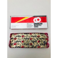 MOTORCYCLE CHAIN 415H 140 LINKS GOLD NEW
