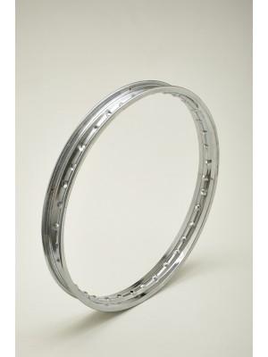 CHROME STEEL WHEEL RIM 1,60 X 17 36 HOLES NEW