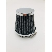 conical air filter for motorcycles cafè racer for carburetor diameter 46 mm