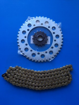 KIT TRANSMISSION CHAIN HONDA XL-V TRANSALP 600 1989-00