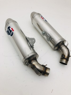 EXHAUSTS SILENCERS TERMIGNONI DUCATI MONSTER 696 2008 TO 2014 NEW ORIGINAL