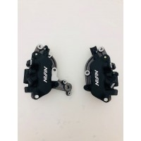 FRONT PAIR BRAKE NISSIN CALIPERS HONDA DEAUVILLE NT 700 ABS FROM 2012 TO 2017