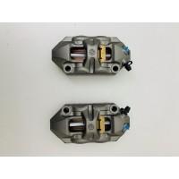 pair front brake brembo radial calipers M4 for ducati guzzi aprilia 100 mm
