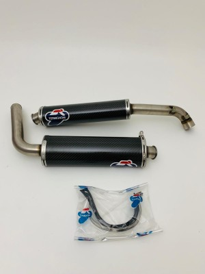 CARBON SILENCERS EXHAUSTS TERMIGNONI DUCATI 748 996 916 NEW AND ORIGINAL