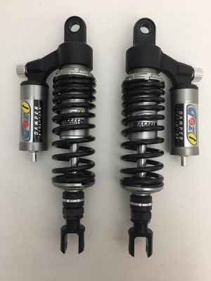 GAZI rear shock absorbers 340 mm cafè racer ducati guzzi triumph with forks
