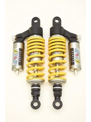 racing rear shock absorbers 310 mm moto guzzi v35 v50 cafe racer yellow spring