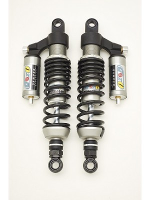 rear shock absorbers 340 mm honda honda cbx e 650 cafè racer black spring
