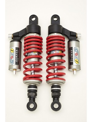 rear shock absorbers 300 mm suzuki gs gn cafè racer cafe racer red spring