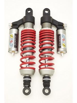 racing rear shock absorbers 340 mm harley XL R sportser roadster 1200 red spring