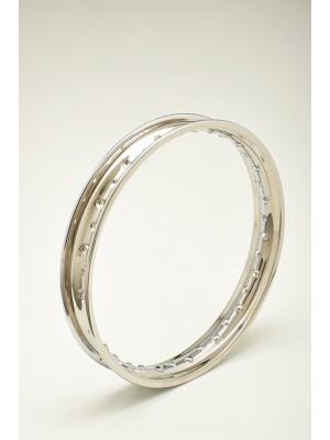 wheel rim chrome steel brand ITALCERCHIO 2,15 x 16 holes 36 NEW